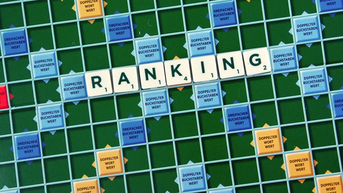 R as in Ranking